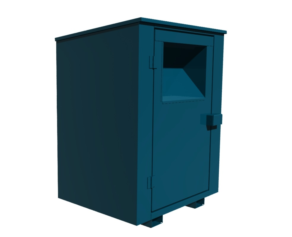 Push Up Clothing Bin
